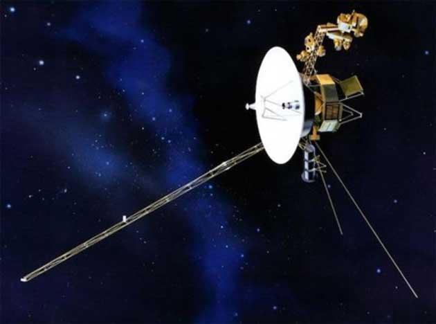00 Sonda Voyager 1: zumbido fuera del sistema solar 00