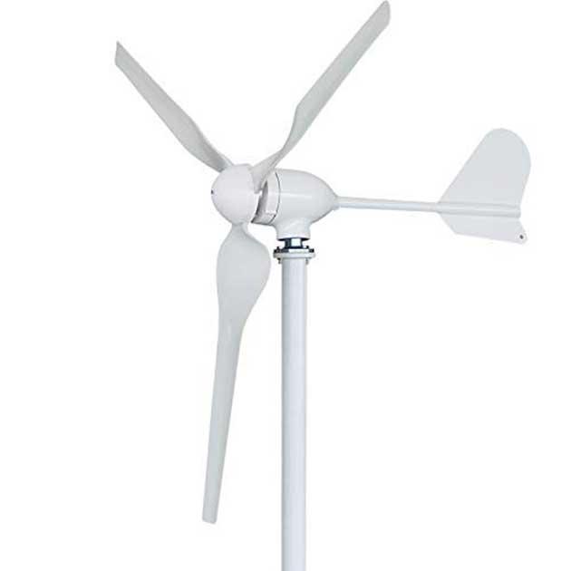 00 Turbina eólica portátil: carga sus dispositivos 00