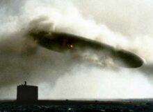 00 Últimos avistamientos de ovnis: La nave se sumergió 00