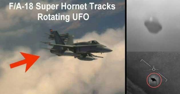 00 f18 super hornet: comenzaron a detectar ovnis 00