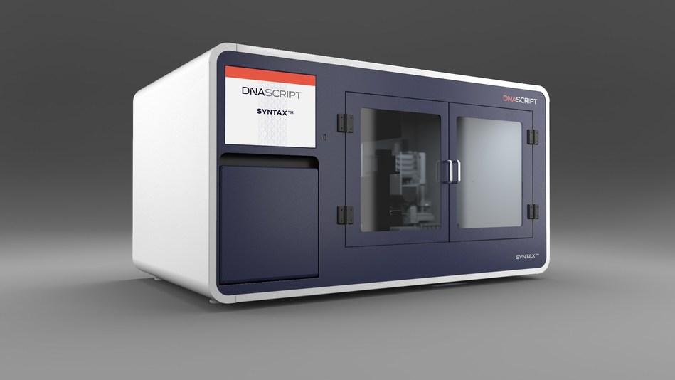 Una impresora que puede sintetizar fragmentos cortos de ADN