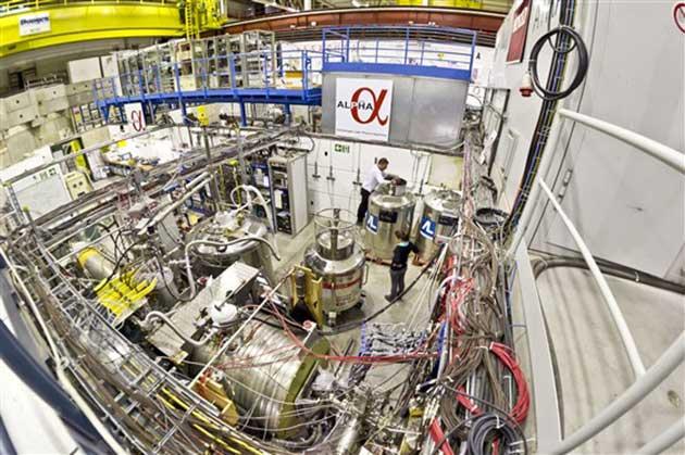 00 Láser para enfriar antimateria a casi cero absoluto 00
